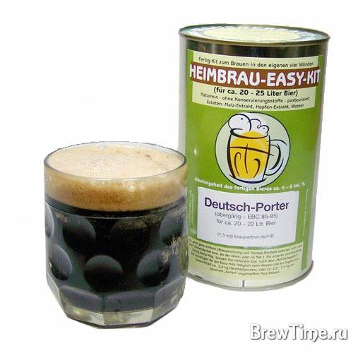 Солодовый экстракт Brau-Partner Deutsch Porter 1,5 кг.